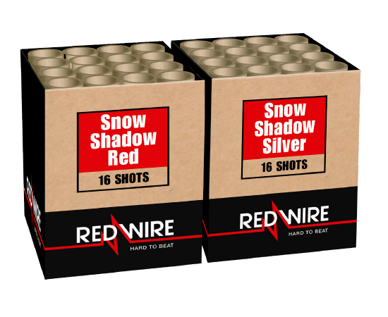 Lesli Snow Shadow Red & Silver