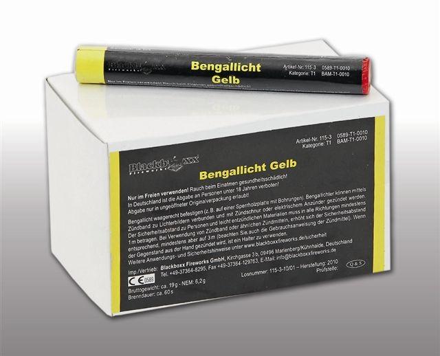 Blackboxx Figurenlichter Gelb - 25er Pack