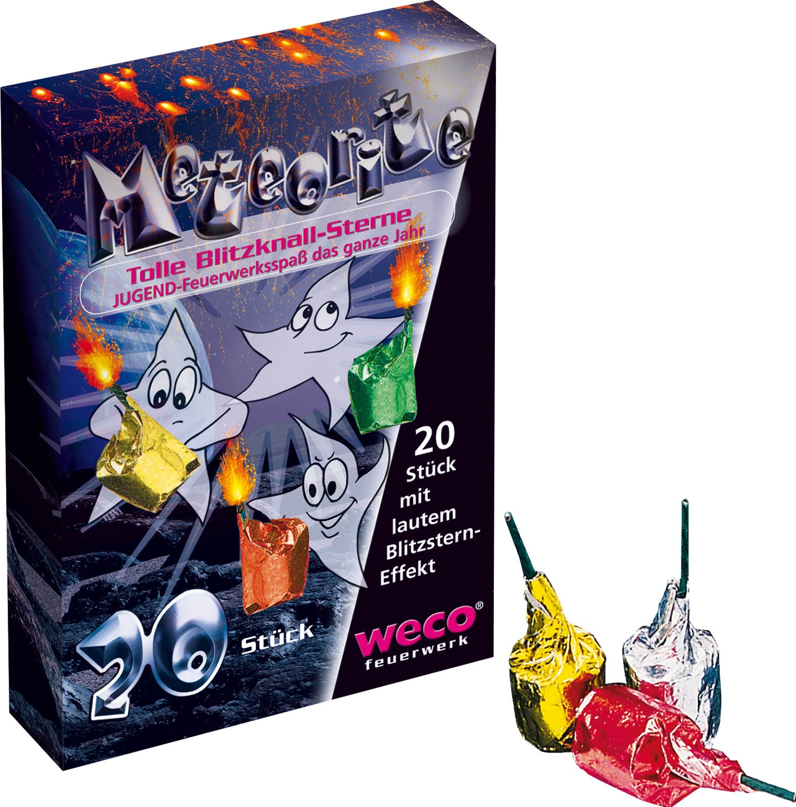 Weco Meteorite 12er Display