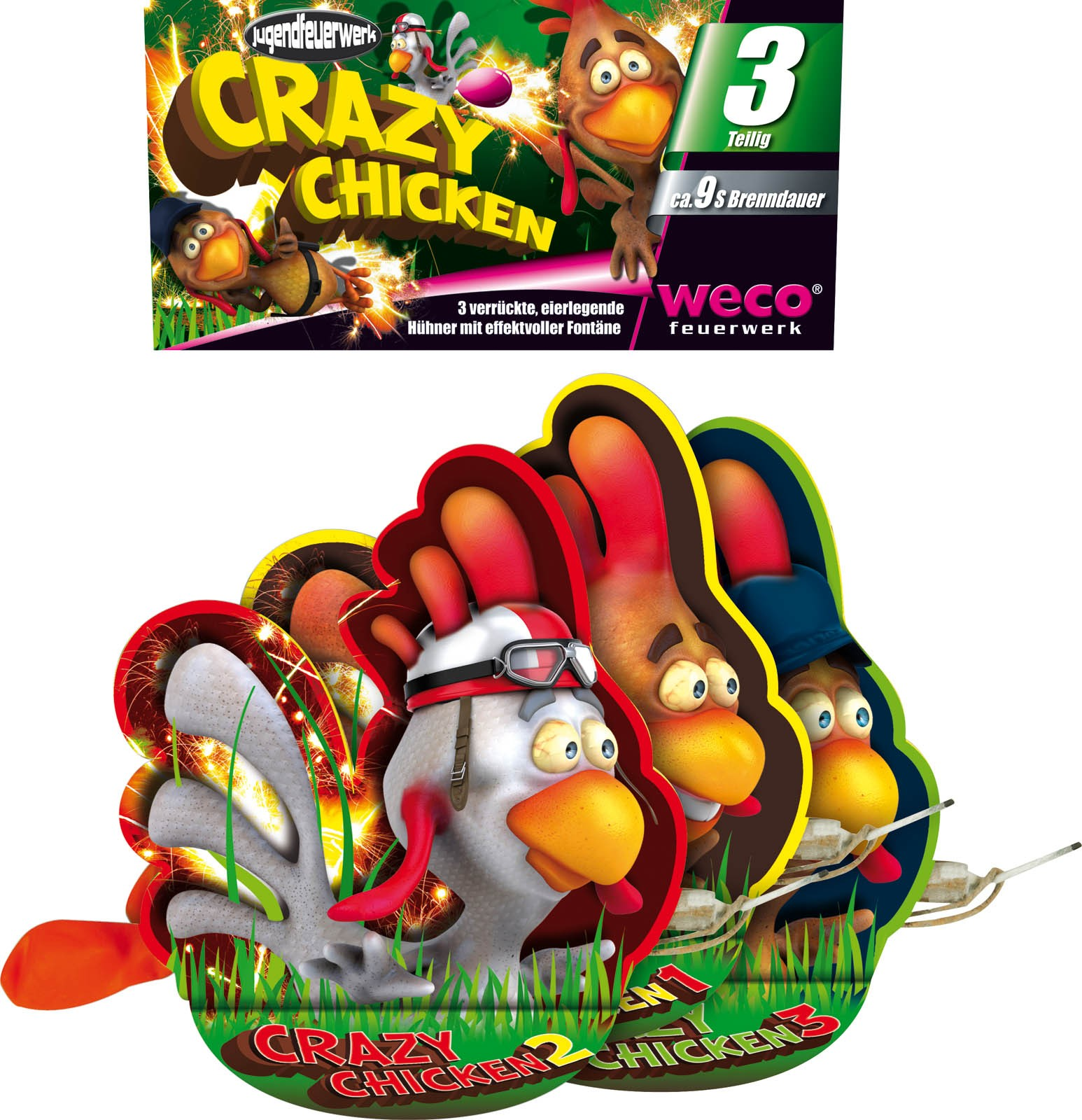 Weco Crazy Chicken