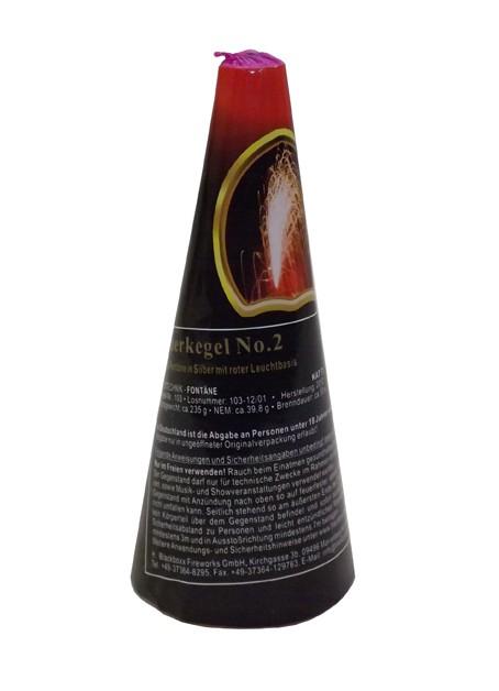 Blackboxx Feuerkegel No.2- Rot