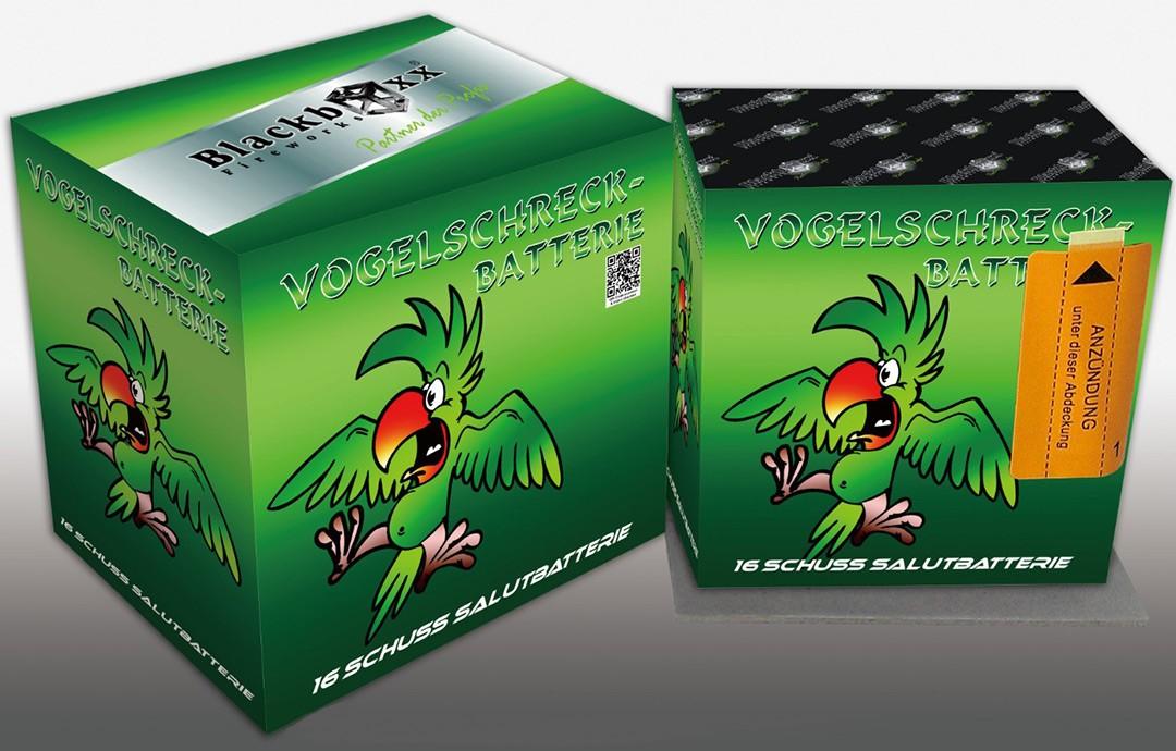 Blackboxx Vogelschreck-Batterie- 6er Käfig Pack