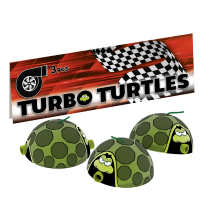 Lesli Turbo Turtles 3er Pack