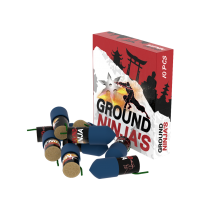 Lesli Ground Ninjas 10er Schachtel