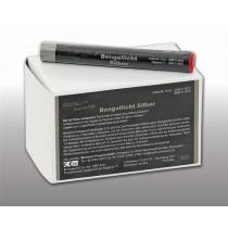 Blackboxx Figurenlichter Silber - 25er Pack