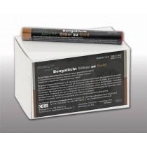 Blackboxx Figurenlichter Silber zu Gold - 25er Pack