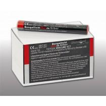 Blackboxx Figurenlichter Rot zu Silber - 25er Pack