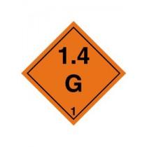Gefahrgutaufkleber 1.4G