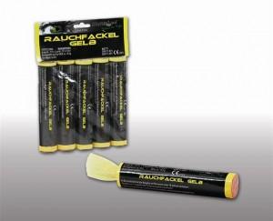 Blackboxx Rauchfackel Gelb- 5er Pack
