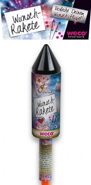 Weco Wunsch Rakete