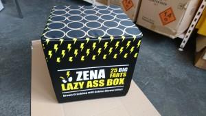 """Zena """"Lazy Ass Box"""" Hocker / Sitzwürfel"""